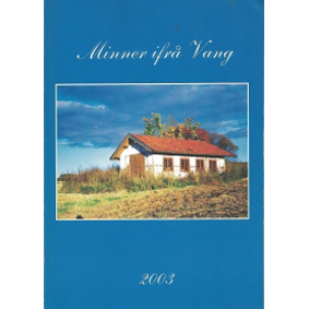 Bok: Minner ifrå Vang 2003
