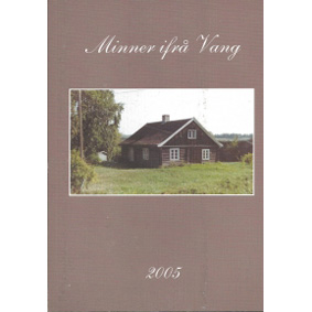 Bok: Minner ifrå Vang 2005