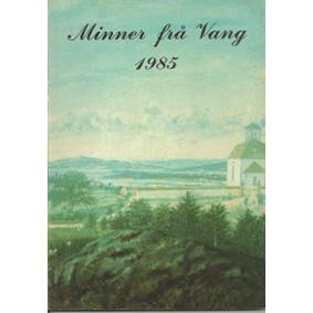 Bok: Minner ifrå Vang 1985