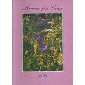 Bok: Minner ifrå Vang 1993