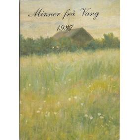 Bok: Minner ifrå Vang 1987