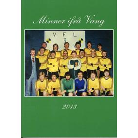 Bok: Minner ifrå Vang 2013