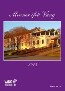 Minner ifrå Vang 2015 Forside