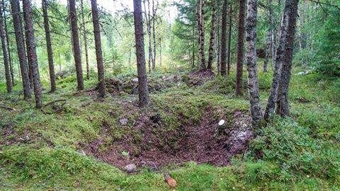 Arkeologi prosjekt i samarbeid med Lunden skole i Vang